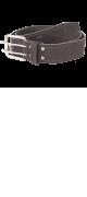 изображение Ремень кожаный 45 мм хром