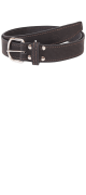 изображение Ремень кожаный 35 мм хром