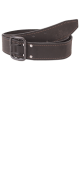 изображение Ремень кожаный 45 мм хром матированный
